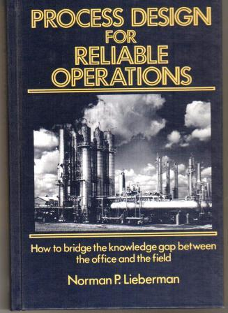 Process Design for Reliable Operations