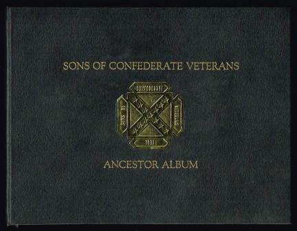 Sons of Confederate Veterans ancestor Album
