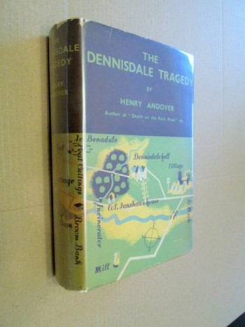 The Dennisdale Tragedy 1936 First Edition Hardback in Dustjacket