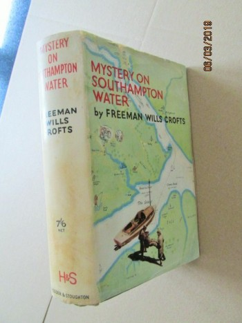 Mystery on Southampton Water First Edition in Original Dustjacket