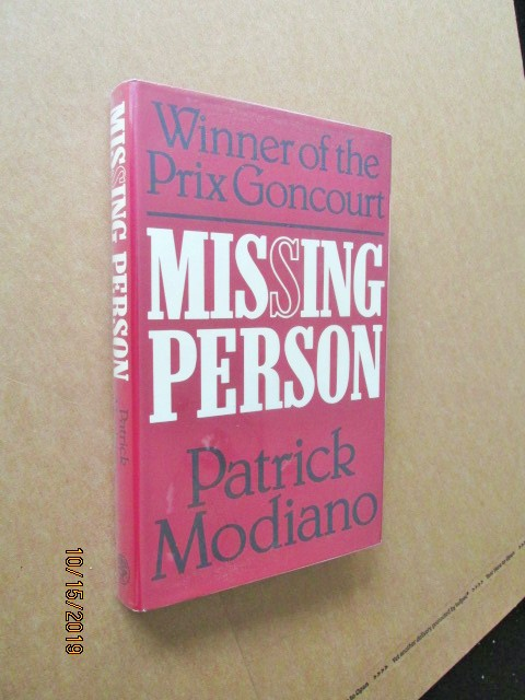 Missing Person First Edition Hardback in Dustjacket
