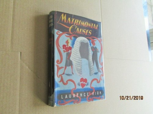Matrimonal Causes First Edition in Original Jacket