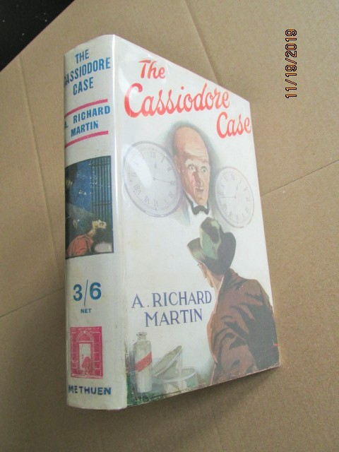 The Cassiodore Case First Edition in Original Dustjacket