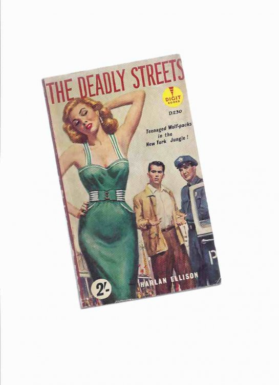 The Deadly Streets --- Teenaged Wolf Packs in the New York Jungle --by Harlan Ellison