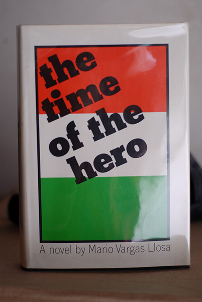 The Time Of The Hero Signed 1st Printing