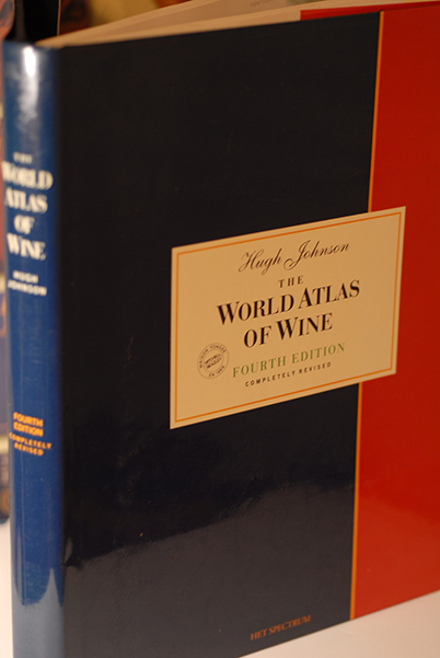 The World Atlas of Wine (Fourth Edition-Signed by Hugh Johnson)