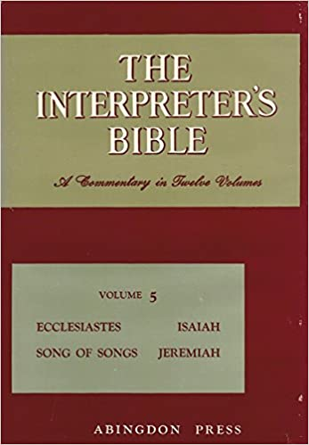 The Interpreter's Bible, Volume 5