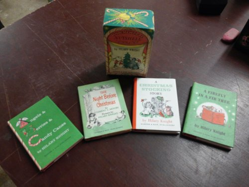 The Christmas Nutshell Library four Small Books in Box