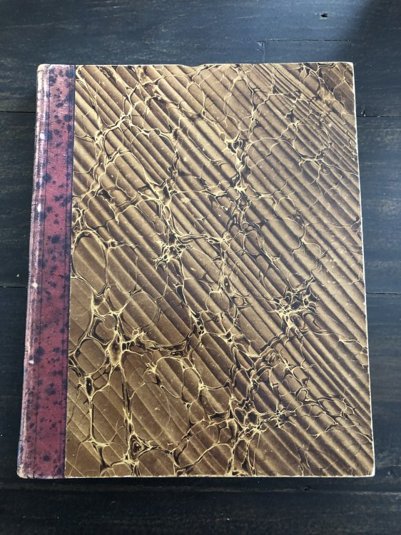 1739 SUPERB ORIGINAL HANDWRITTEN EARLY 18TH CENTURY MANUSCRIPT TRAVEL DIARY AND JOURNAL OF THREE 3 DUTCH MEN IN GERMANY