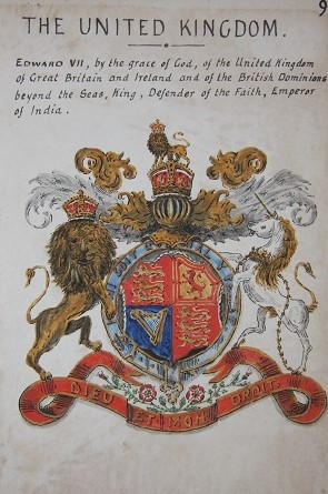 The National Heraldry of the United Kingdom