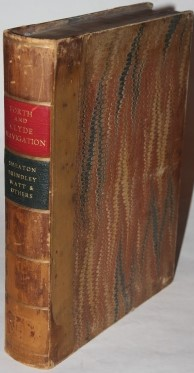 [Faux Book Box] Forth and Clyde Navigation by Smeaton, Brindley, Watt & Others
