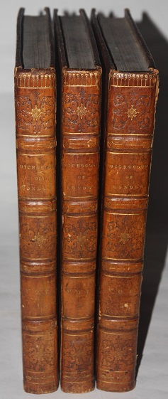 Microcosm of London or London in Miniature (Three volumes)