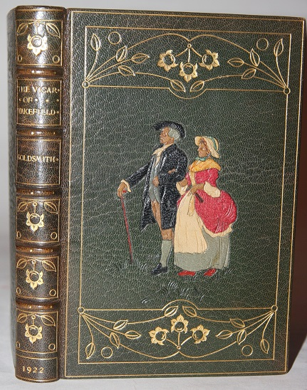 Kelliegram Binding The Vicar of Wakefield