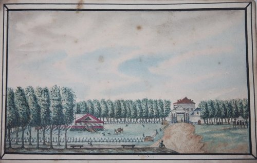 Album of Watercolors of Verdun by an English Prisoner-of-War during the Napoleonic Wars