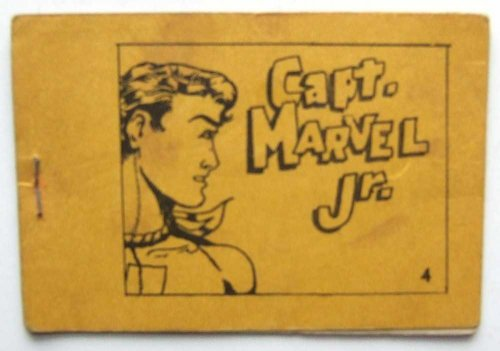 Captain Marvel Jr. Tijuana Bible 8-Pager