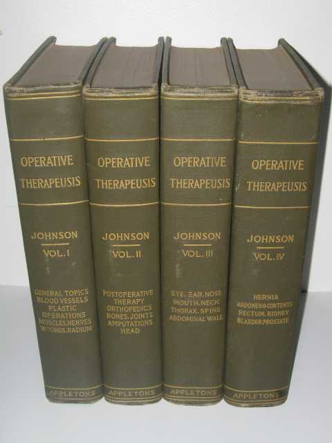 Operative Therapeusis Volumes 1-4