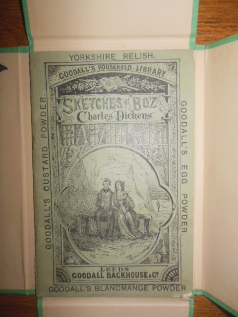 Sketches by Boz Charles Dickens Goodalls Household Library 1885 In Custom Made Box
