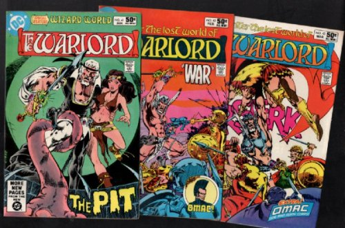 Warlord #27 thru #50 (Lot of 24 issues)