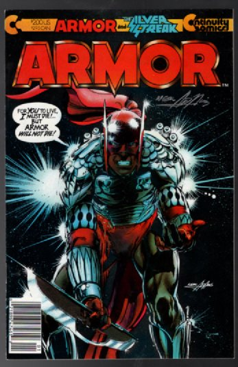 Armor #1:Signed by Neal Adams