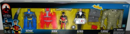 Batman Animated 4-Pack, with Alfred (The New Batman Adventures)