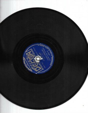 Aaron Gonzalez and his Tango Orchestra 78 rpm 1.Chino Soy2.Perdoname