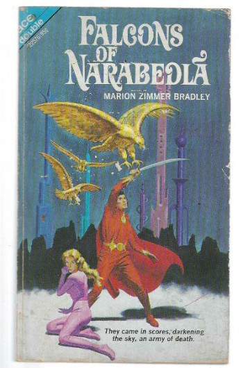 Falcons of Narabedla The Dark Intrudersigned by Marion Zimmer Bradley