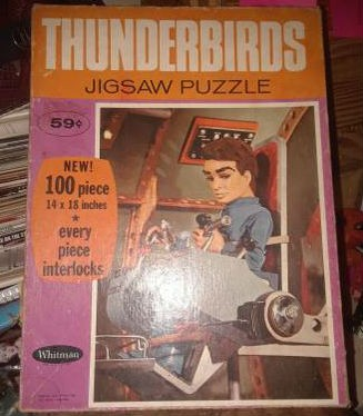 Thunderbirds Jigsaw puzzle 100 pieces