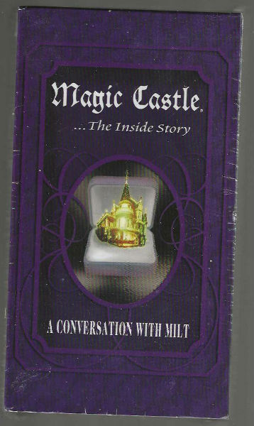 Magic Castle.the inside story:A conversation with Milt VHS sealed