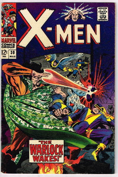UNCANNY X-MEN #30 1966 VOLUME 1 MARVEL