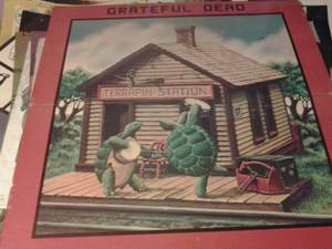 Grateful Dead,Terrapin Station Giannt poster on thick card that folds in half,measuring al-7001 ;36