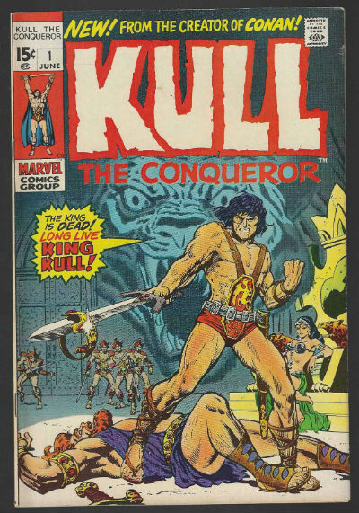 Kull:the Conqueroer #! thru #5
