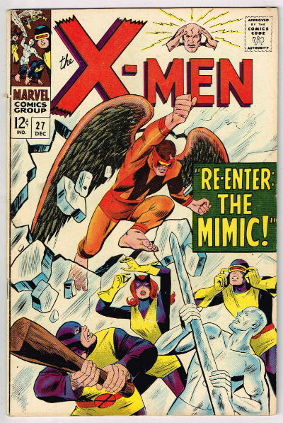 UNCANNY X-MEN #27 1966 VOLUME 1 MARVEL