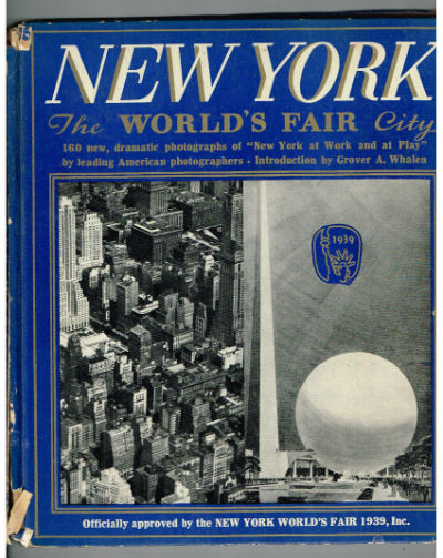 New York The Worlds Fair City-signed by Frank Monaghan
