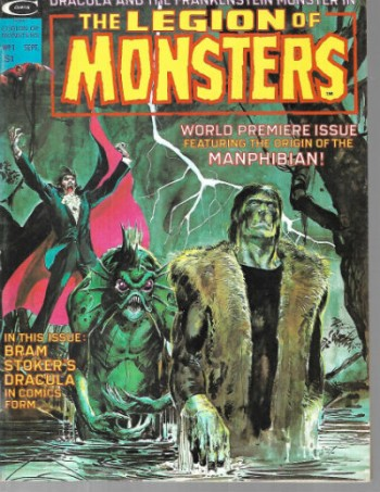 the Legion of Monsters #1