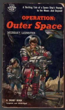 Operation: Outerspace - Space Book