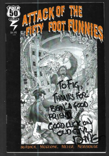 attack of the fifty foot funnies-signed