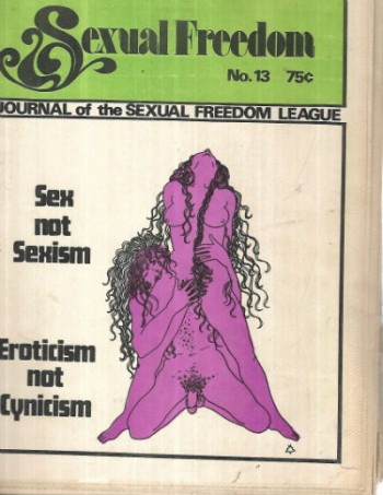 sexual freedom journal of the sexual freedom league no.13