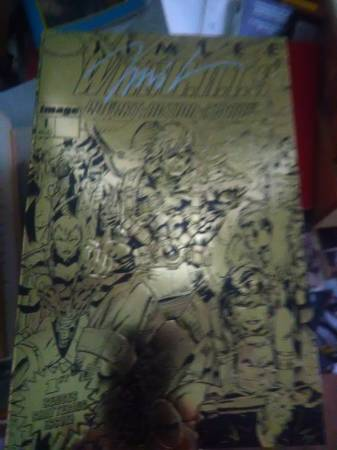 WildC.A.T.S Covert Action Teams 1 Gold Edition-signed by Jim Lee