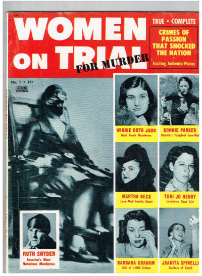 WOMEN-ON-TRIAL-FOR-MURDER-1-1956-ELECTRIC-CHAIR-SOUTHERN-STATES-in excellent