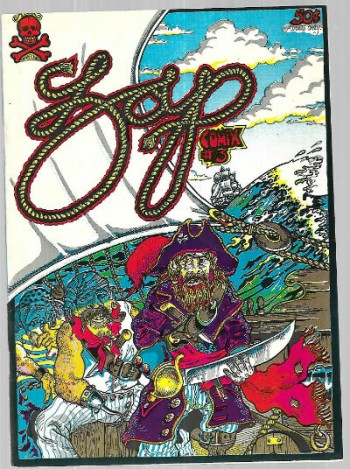 Zap #3 signed by S.Clay Wilson