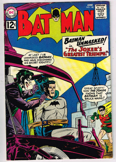 Batman #148 Batman Batman #148 - The Joker's Greatest Triumph released by DC Comics on June 1, 1962.