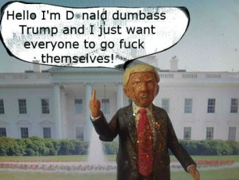 Donald Dumbass Trump Non-action figure