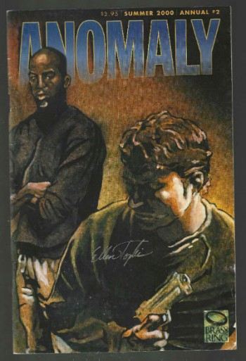Anomaly Annual #2-signed by Ellen Topkis