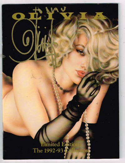 Olivia:Limited editions 1992-1993-signed by olivia