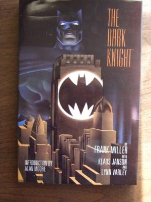 The Dark Knight by Frank Miller-signed by Frank Miller #2750 out o 4000
