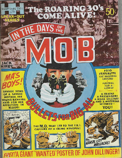 In the days of the Mob-Jack Kirby