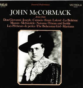 John McCormack-Arias;Immortal performances (Vinyl)