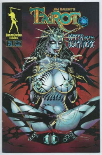 Tarot Witch of the Black Rose 2 May 2000 Broadsword Comics