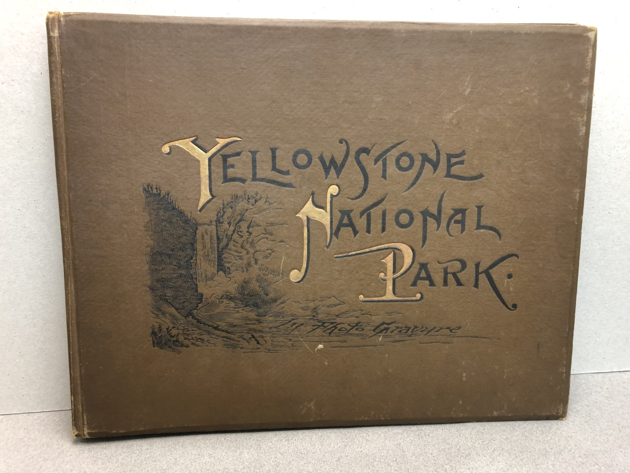 YELLOWSTONE NATIONAL PARK In Photogravure