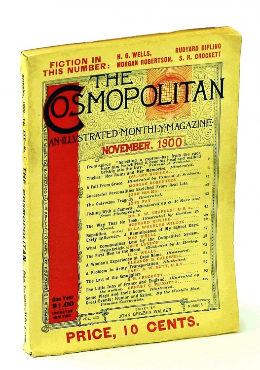 The Cosmopolitan, An Illustrated Monthly Magazine, November [Nov.] 1900, Vol. XXX, Number 1
